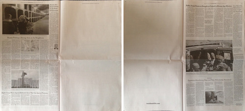 Blank ad