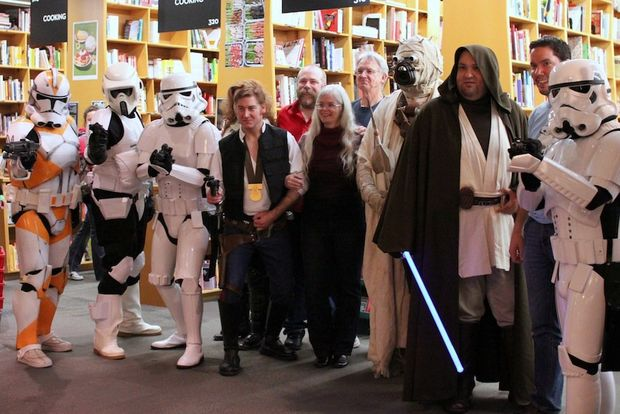 Stormtroopers at Authorfest