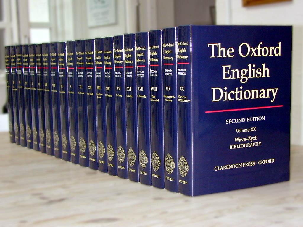 The O.E.D.