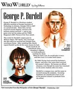 George Burdell