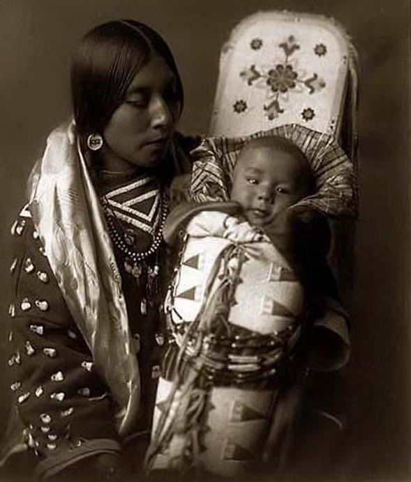 Cherokee Mother-and-Child