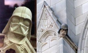 Darth Vader gargoyle