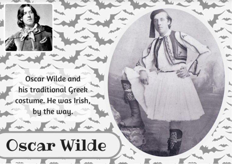 Oscar Wilde costume