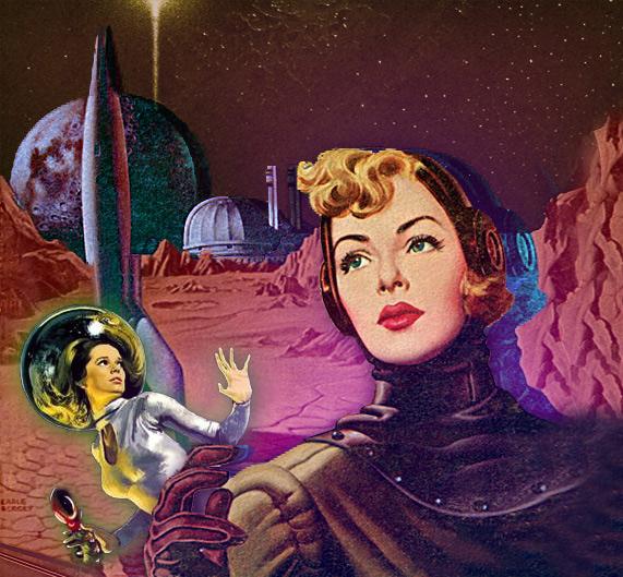 Women on Mars.