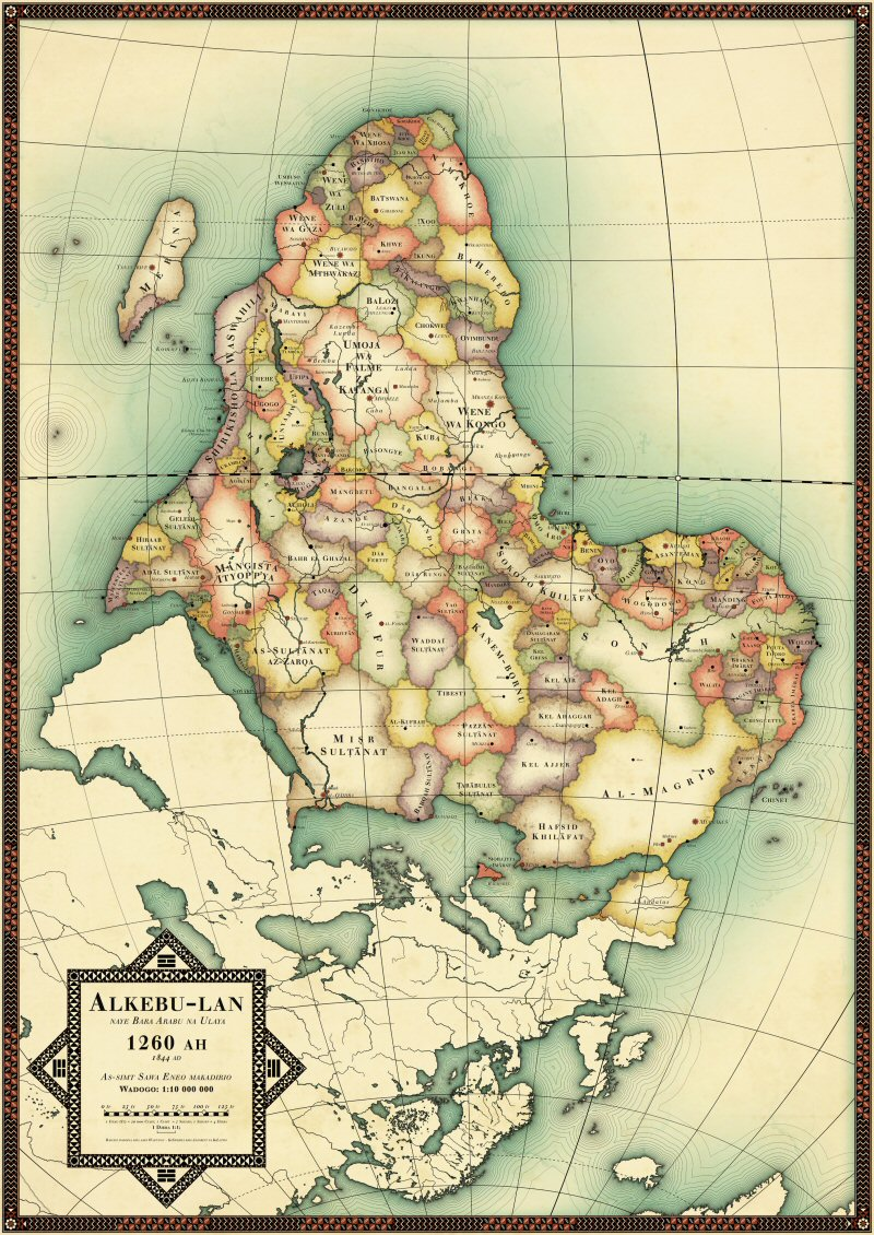 Uncolonized Africa