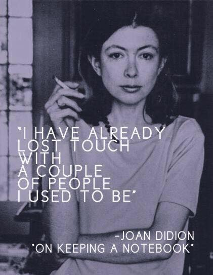 QUOTE Joan Didion