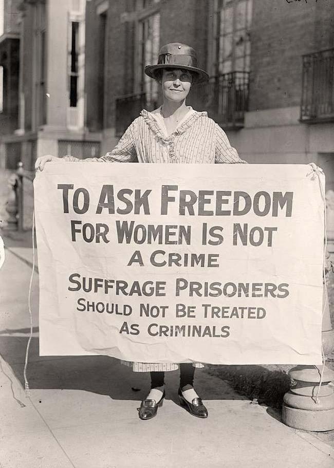 Sufferage activist