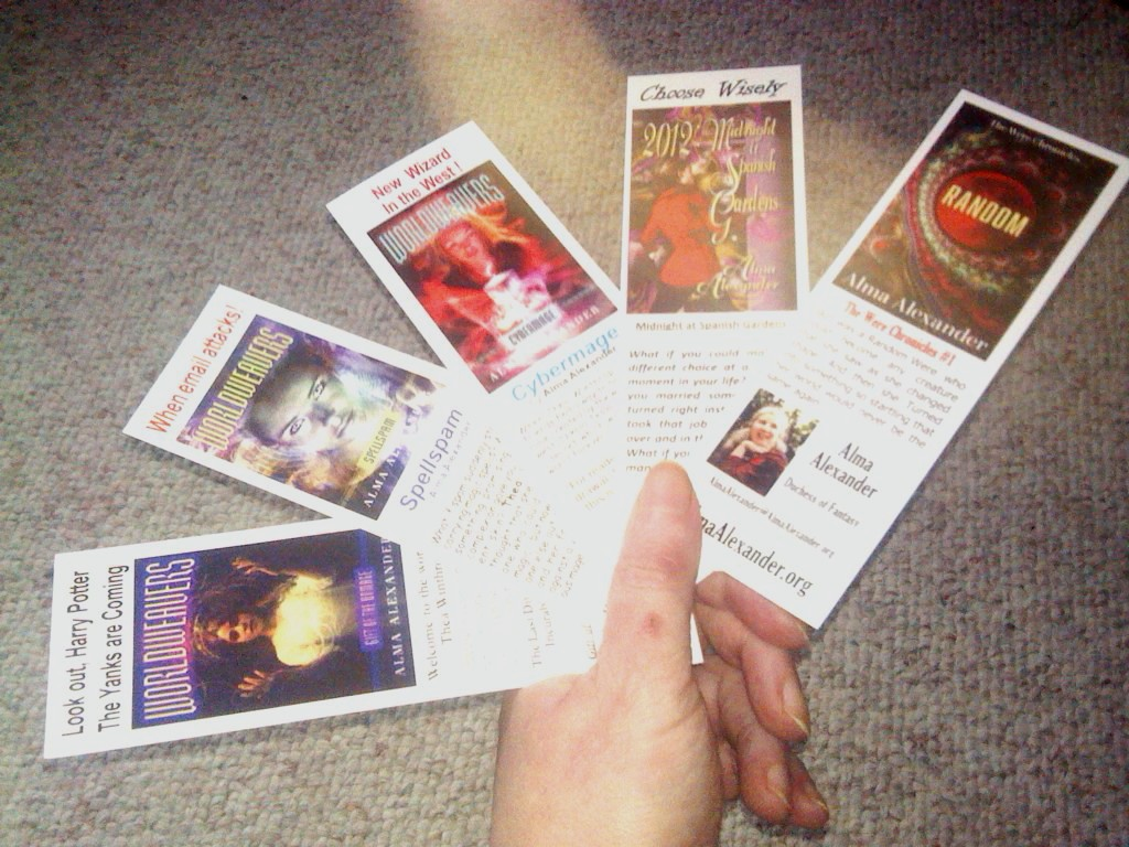 Bookmarks spread