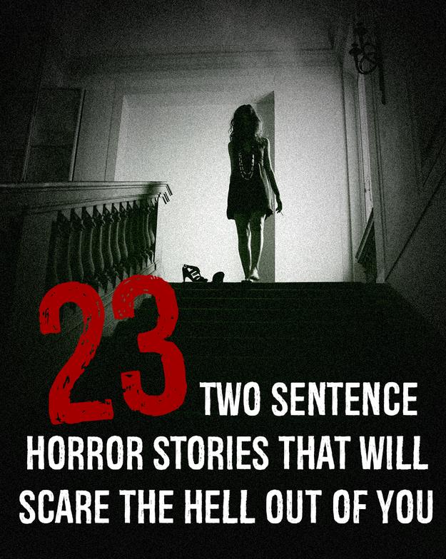 2-sentence horror