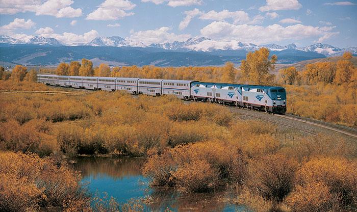 Train Across US