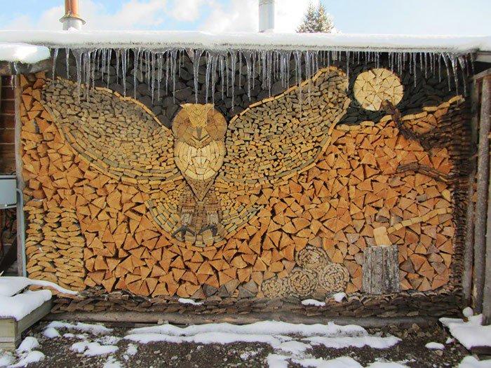 Woodpile Owl