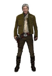 Han Solo jacket art