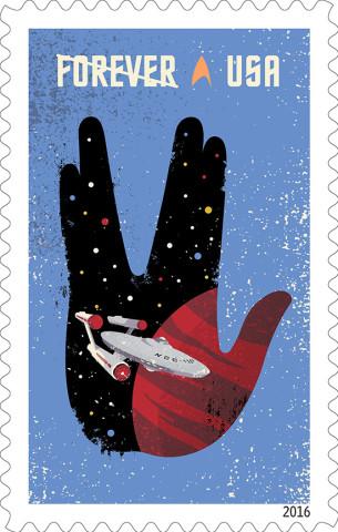 StarTrek Stamp