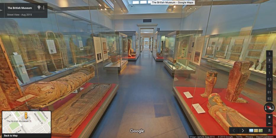 British Museum Egypt Gallery