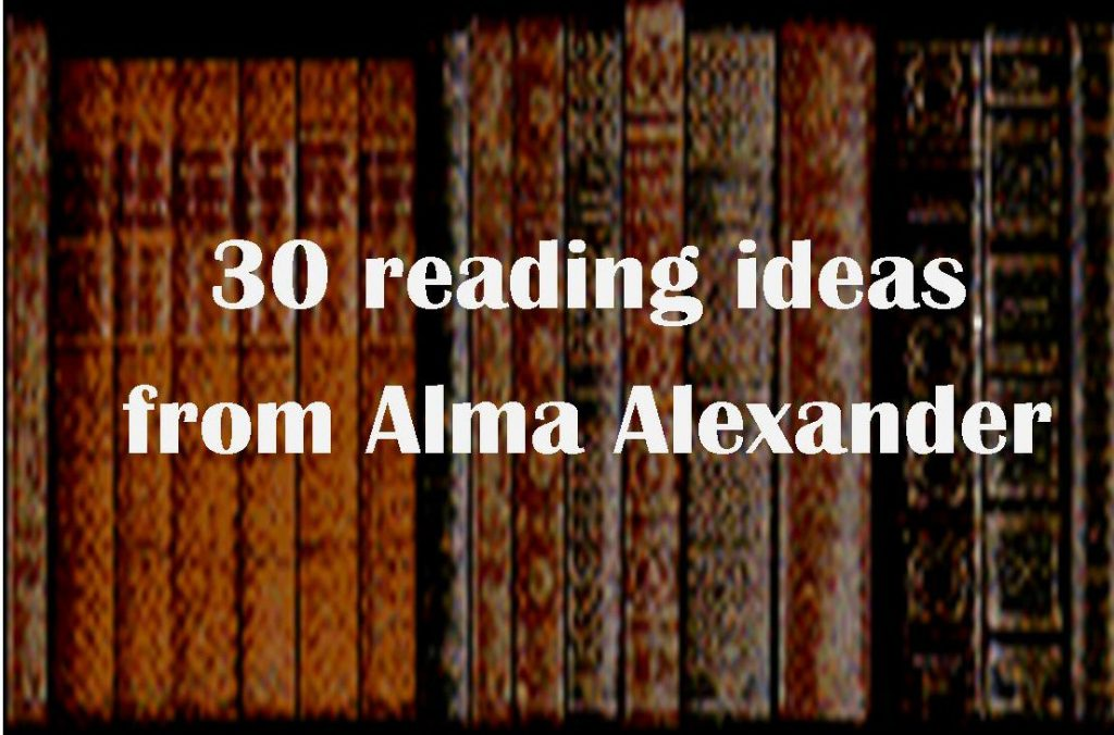 Alma Alexander's Reading Challenge