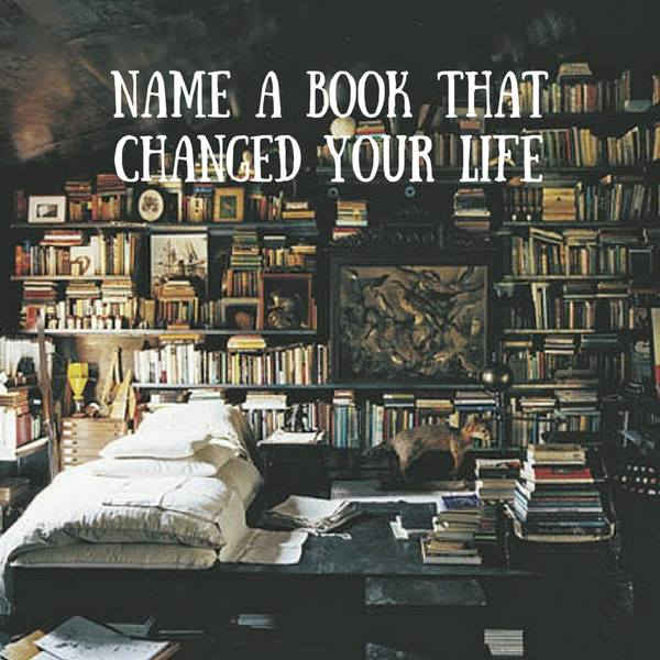 What book changed you life poster