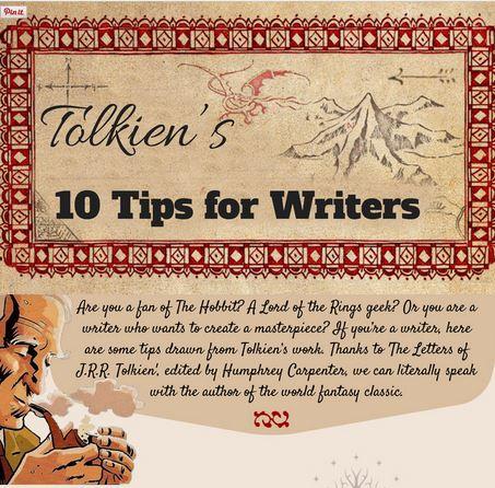 Tolkien On Writing illustration