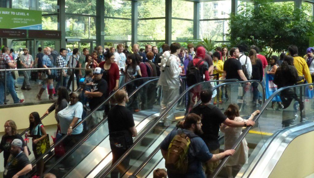 Eccc Hall Crowds photo