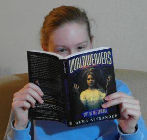 Girl Reading Wordweavers