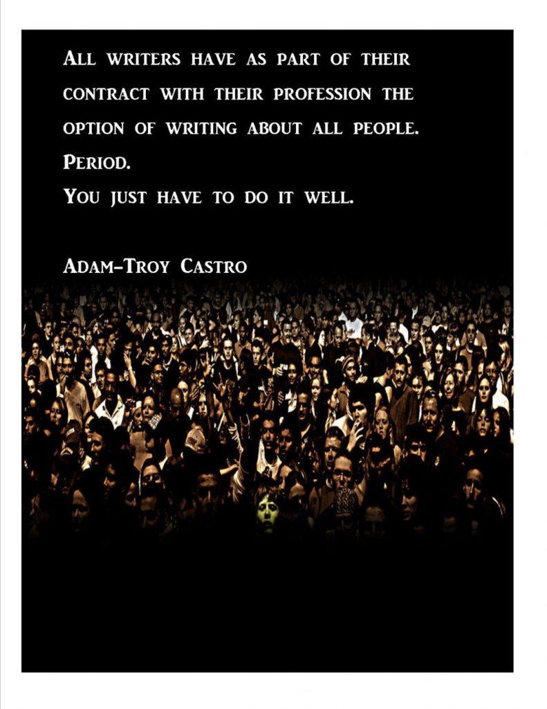 Adamtroy Castro Quote poster