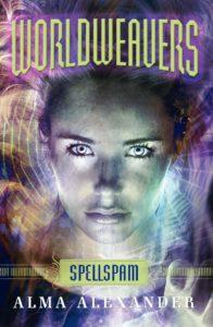 Spellspam cover HarperCollins cover