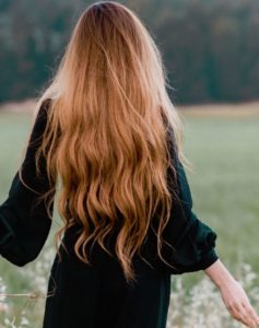 Girl with long hair Photo by Rana Sawalha