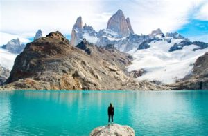 A scenic photo of Patagonia