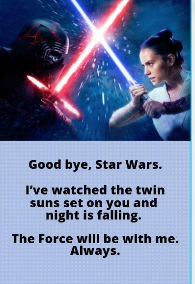 poster last star wars