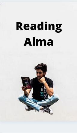 Alma reading poster