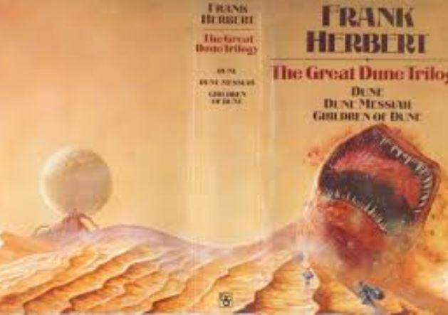 Dune trilogy cover illustration