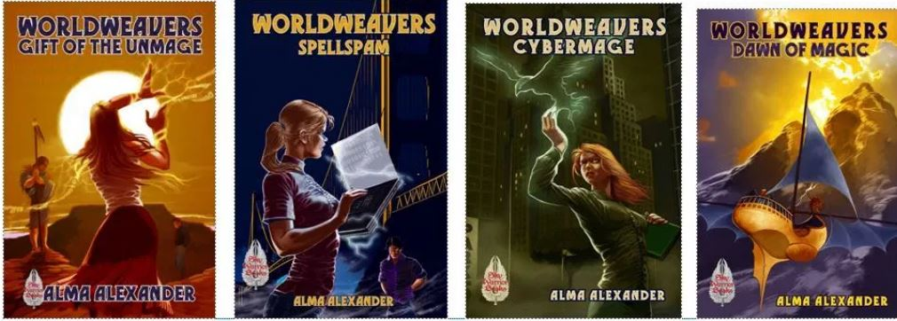 Worldweaver covers, maggie