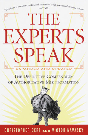 cover The Experts Speak